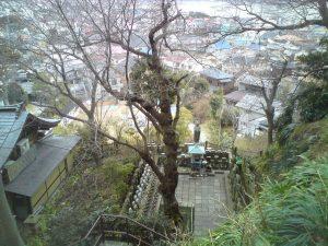 Вид на Камакуру из храма Хасэдэра