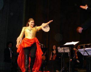 Чечилия Бартолли на концерте