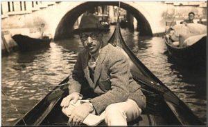 Игорь Стравинский в Венеции 1925г.
