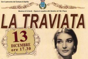 Афиша театра «Ла Фениче» с Марией Каллас