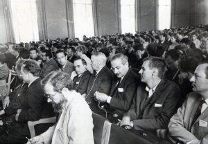 Всесоюзная юбилейная конференция по парамагнитному резонансу.