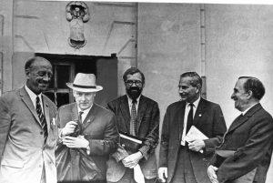 Участники юбилейная конференция. Казань, 1969 г.