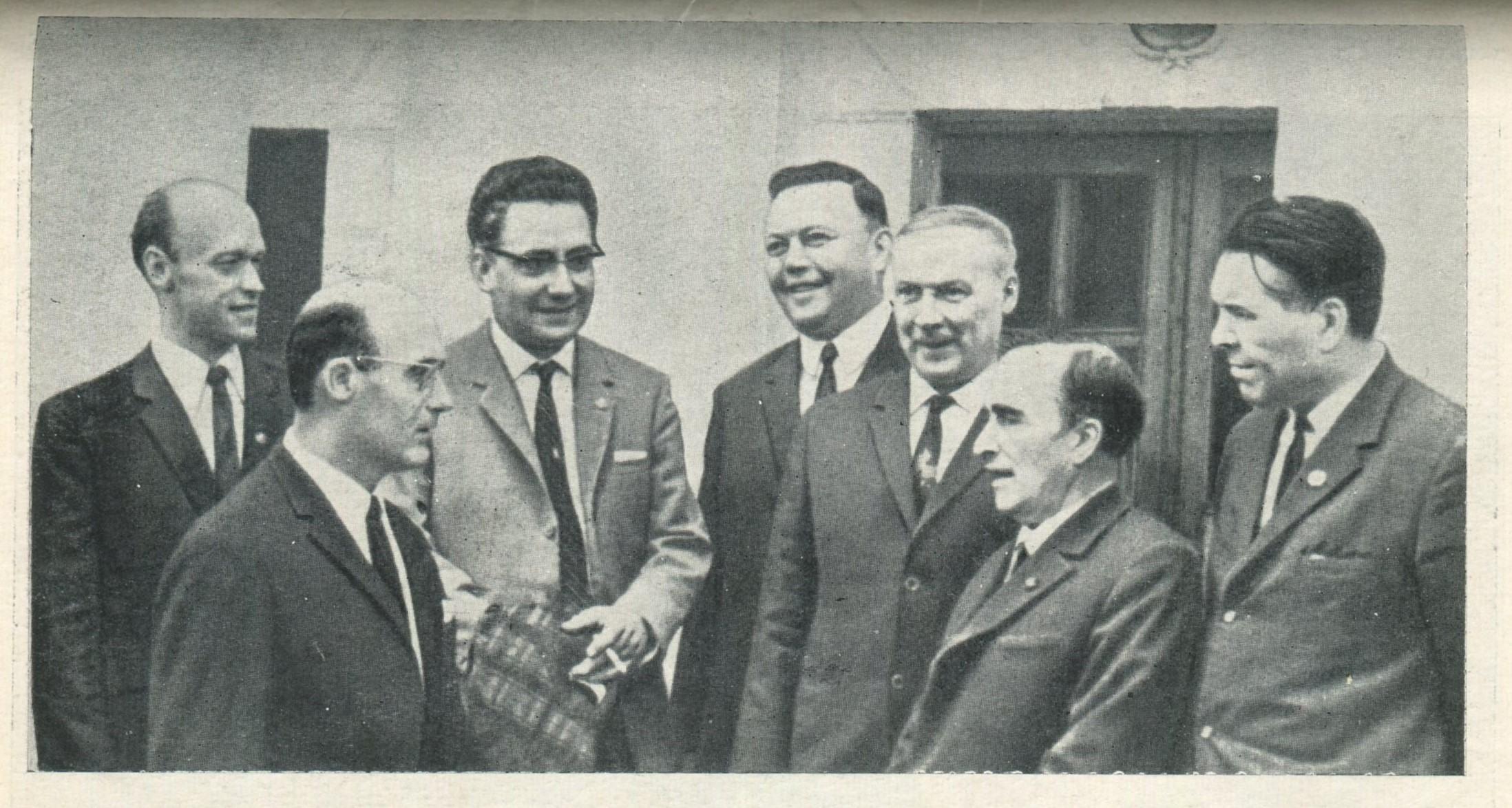 . Участники Всесоюзной юбилейной конференции. Казань, 1969 г.