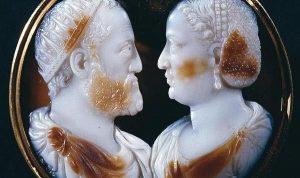 Камея. Козимо I и его супруга Элеонора