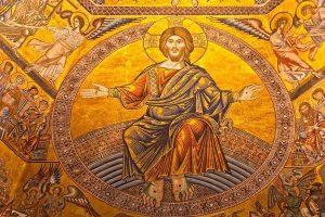 Сцена Страшного суда. Мозаика купола Баптистерия