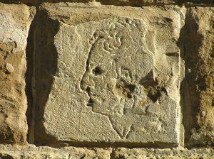 Голова мужчины. Рисунок предписываемый Микеланджело