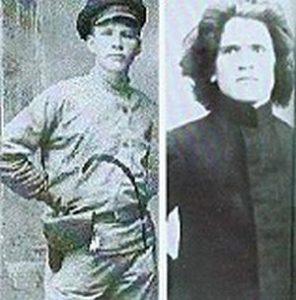 Павел Медведев (слева) и Петр Ермаков: участники расстрела царской семьи.