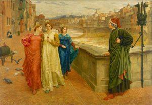 «Данте и Беатриче». Генри Холидей