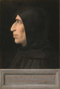 портрет Савонаролы. Фра Бартоломео.