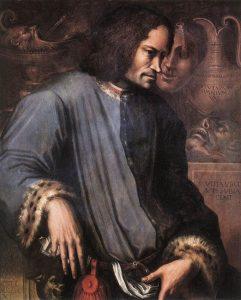 Портрет Лоренцо Медичи Дж. Вазари
