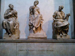 Надгробье Лоренцо Великолепного и Джулиано Медичи.
