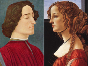 Джулиано Медичи и Симонетта Веспуччи. Сандро Боттичелли.