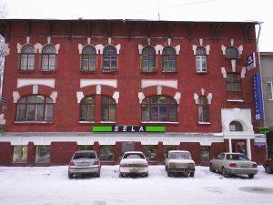 Здание, в котором находилась редакция газеты «Сибирская Жизнь», г. Томск, фото 2005 г.