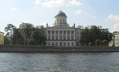 Санкт-Петербург, ИРЛИ (Институт русской литературы - Пушкинский Дом), фото из Интернета