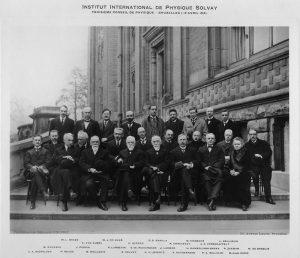 Участники третьего Сольвеевского конгресса 1921 г.