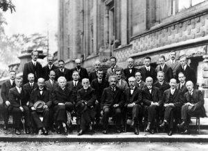Участники пятого Сольвеевского конгресса, 1927 г.