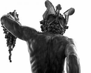 Персей вид сзади Бенвенуто Челлини