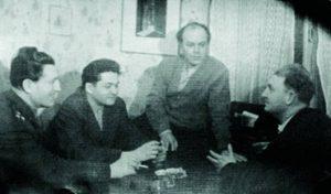 Друзья-ровесники: Пётр Горелик, Исаак Крамов, Давид Самойлов, Борис Слуцкий (1963)