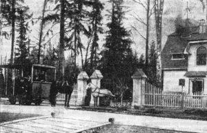 Гиреевский проспект, на котором жил Виктор, 1906 год
