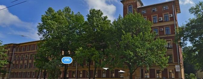 Первый корпус Петербургского Политехнического университета. Кафедра МПУ располагалась здесь.
