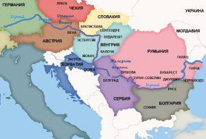 Страны Дунайского региона