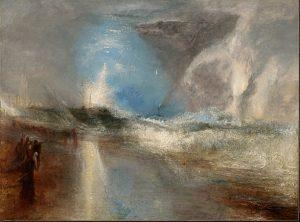 «Ракеты и голубые огни» Тёрнера, 1840 г., масло; Арт-институт Кларка, Уильямстаун, Массачусетс