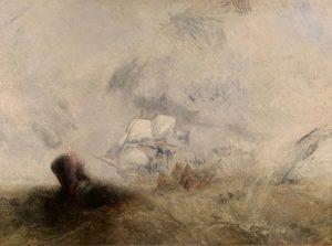 «Китобои» Тёрнера, 1845 г., масло; Музей Метрополитен, Нью-Йорк
