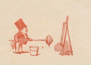 Карикатура на Тёрнера, 1846 г.