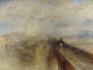 «Дождь, пар и скорость» Тёрнера, 1844 г. масло;