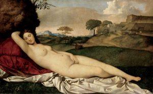 «Спящая Венера» Джорджоне, 1510 г.