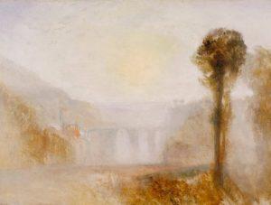 «Мост в Сполето» Тёрнера, 1840-1845 гг., масло;