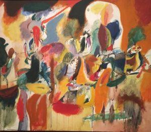 «Вода цветистой мельницы» Гроки, 1944 г. масло;