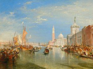 «Вид Венеции» Тёрнера, 1834 г., масло; Национальная галерея, Вашингтон