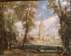 «Солсберецкий собор» Констебла, 1825 г., масло;