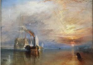 «Последний путь брига 'Темерер'» Тёрнера, 1839 г.,