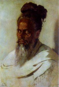 В.Верещагин. Голова индуса