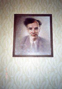 Рис.7. Портрет Л.Д. Ландау в квартире Е.М. Лифшица.