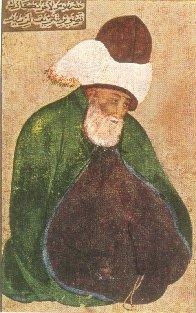 10. Прижизненное изображение Джалаладдина Руми (1207 — 1273)