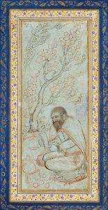 13. Дервиш-паломник, миниатюра XIV века