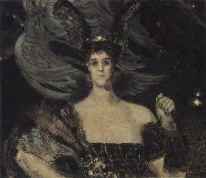 М.А.Врубель. Валькирия. 1899