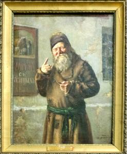 Л.О.Пастернак. Не выпить ли? 1883