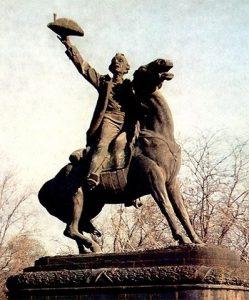 Б.В. Эдуардс. Памятник Суворову в Измаиле. 1914