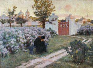 К.К.Костанди. Сирень цветёт.1902