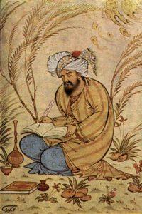 32. Поэт, персидская миниатюра