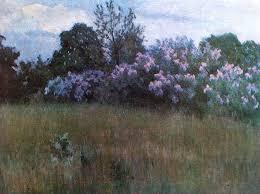 Т.Я. Дворников. Сирень цветёт. 1912 (?)