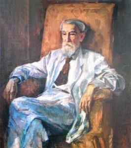 П.Г.Волокидин. Портрет А.М.Дерибаса. 1934