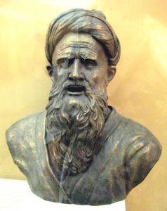 8. Абу Абдаллах Джафар Рудаки (~ 860 — 941), реконструкция М.М. Герасимова