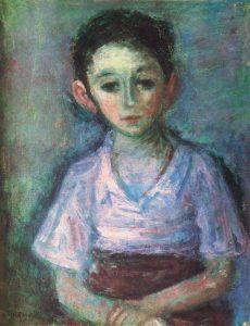 Макс Бэнд. Портрет мальчика. 1932