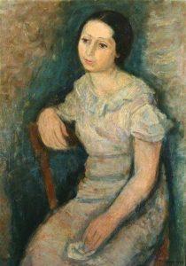 Макс Бэнд. Женский портрет. 1939