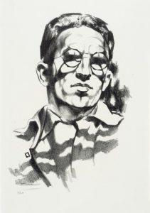Луис Лозовик. Автопортрет. 1930